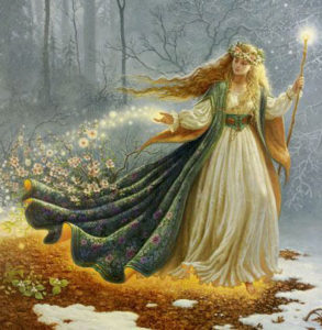 Brigid Celtic Goddess